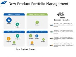 New Product Portfolio Management New Product Phases Project
