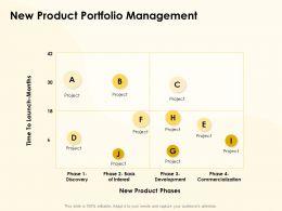 New Product Portfolio Management Ppt Powerpoint Presentation Designs