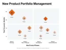 New Product Portfolio Management Ppt Powerpoint Presentation Professional