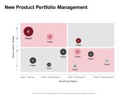 New Product Portfolio Management Ppt Powerpoint Presentation Slides Download