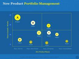 New Product Portfolio Management Slide Ppt Powerpoint Presentation Slides
