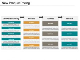 New Product Pricing Ppt Powerpoint Presentation Infographics Maker Cpb