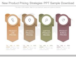 New Product Pricing Strategies Ppt Sample Download