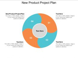 New Product Project Plan Ppt Powerpoint Presentation File Topics Cpb