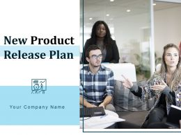 New Product Release Plan Powerpoint Presentation Slides
