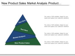 New Product Sales Market Analysis Product Development Organizational Planning