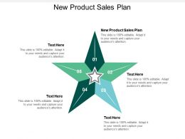 New Product Sales Plan Ppt Powerpoint Presentation Gallery Influencers Cpb