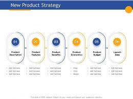 New Product Strategy Economics Ppt Powerpoint Presentation Design Templates
