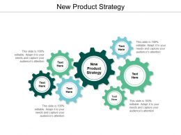 New Product Strategy Ppt Powerpoint Presentation Ideas Display Cpb
