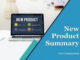 New Product Summary Powerpoint Presentation Slides