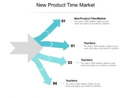 New Product Time Market Ppt Powerpoint Presentation Slides Cpb