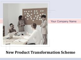 New Product Transformation Scheme Powerpoint Presentation Slides