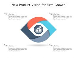 New Product Vision For Firm Growth