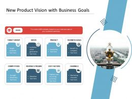 New Product Vision With Business Goals