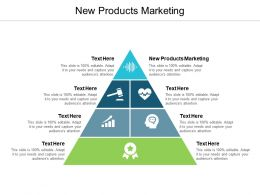 New Products Marketing Ppt Powerpoint Presentation Icon Templates Cpb