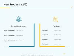 New Products Product Pricing Strategy Ppt Template