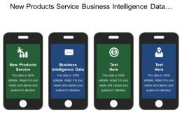 New Products Service Business Intelligence Data Implementation Communication