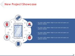 New Project Showcase Ppt Pictures Design Ideas