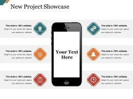 New Project Showcase Presentation Diagrams