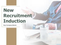New Recruitment Induction Powerpoint Presentation Slides