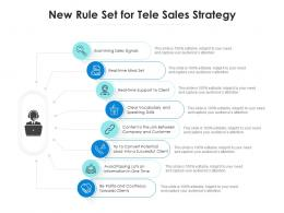 New Rule Set For Tele Sales Strategy