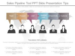 New Sales Pipeline Tool Ppt Slide Presentation Tips