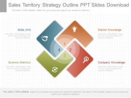 New Sales Territory Strategy Outline Ppt Slides Download