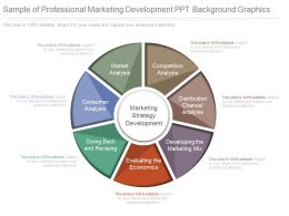 New Sample Of Professional Marketing Development Ppt Background