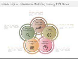 New Search Engine Optimization Marketing Strategy Ppt Slides