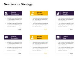 New Service Strategy Attention Ppt Powerpoint Presentation Model Infographic Template