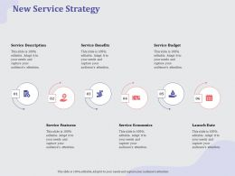 New Service Strategy Date Ppt Powerpoint Presentation Gallery Clipart