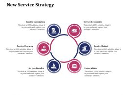 New Service Strategy Economics Ppt Powerpoint Presentation Gallery Files