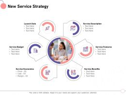 New Service Strategy Launch Date M1442 Ppt Powerpoint Presentation File Structure