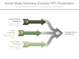 New Social Media Marketing Example Ppt Presentation