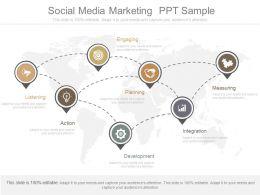 New Social Media Marketing Ppt Sample