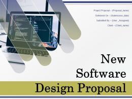 New Software Design Proposal Powerpoint Presentation Slides