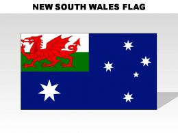 New South Wales Country Powerpoint Flags