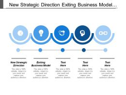New Strategic Direction Exiting Business Model Positioning Statement Cpb