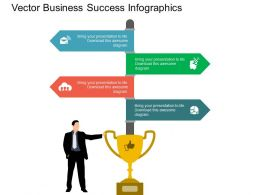 new Tags And Trophy For Business Communication Techniques Flat Powerpoint Design
