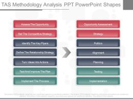 New Tas Methodology Analysis Ppt Powerpoint Shapes