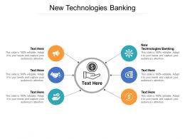 New Technologies Banking Ppt Powerpoint Presentation Show Graphics Cpb