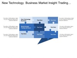 New Technology Business Market Insight Trading Up Down