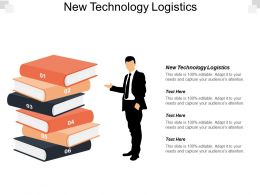 New Technology Logistics Ppt Powerpoint Presentation Icon Visuals Cpb