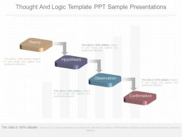 New Thought And Logic Template Ppt Sample Presentations