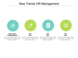 New Trends HR Management Ppt Powerpoint Presentation Pictures Slideshow Cpb