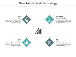 New Trends Web Technology Ppt Powerpoint Presentation Portfolio Structure Cpb