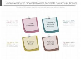 New Understanding Of Financial Metrics Template Powerpoint Shapes
