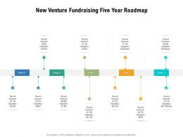 New Venture Fundraising Five Year Roadmap