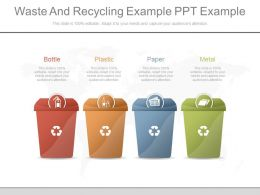 New Waste And Recycling Example Ppt Example