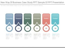New Way Of Business Case Study Ppt Sample Of Ppt Presentation